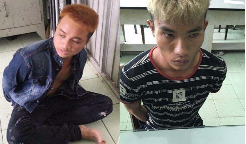 Tài và Lưu bị cơ quan công an bắt giữ