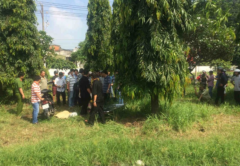Biên Hòa: Một phụ nữ chết bất thường cạnh xe máy - ảnh 1