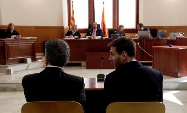 Việc ra toà bởi tội danh trốn thuế được xem như một vết đen trong sự nghiệp chói loà của Messi