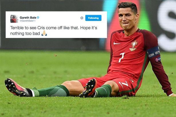 Ronaldo khóc rời sân, Gareth Bale thương cảm! - ảnh 1