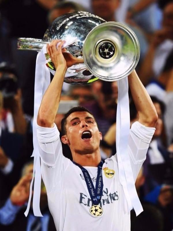 Ronaldo với những thắng lợi cùng đội bóng Real