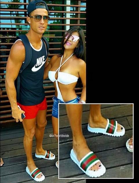 Ronaldo lại lộ ảnh… sơn móng chân - ảnh 4