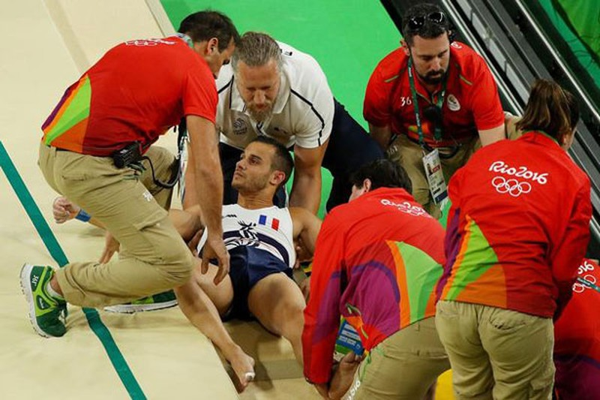 Chấn thương kinh hoàng tại Olympic Rio - ảnh 2