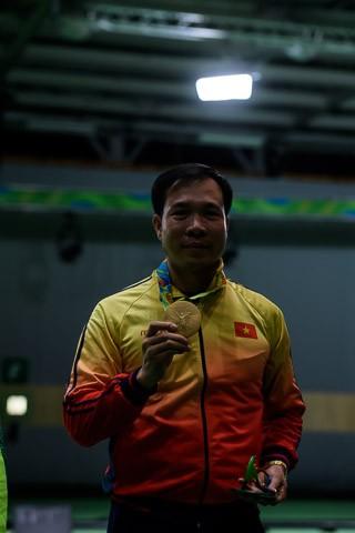 Ảnh: Khoảnh khắc vàng của Hoàng Xuân Vinh tại Olympic Rio  - ảnh 11