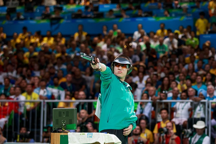 Ảnh: Khoảnh khắc vàng của Hoàng Xuân Vinh tại Olympic Rio  - ảnh 3