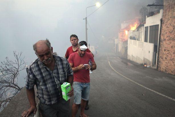 Cristiano Ronaldo dang tay cứu trợ đám cháy quê nhà  - ảnh 12