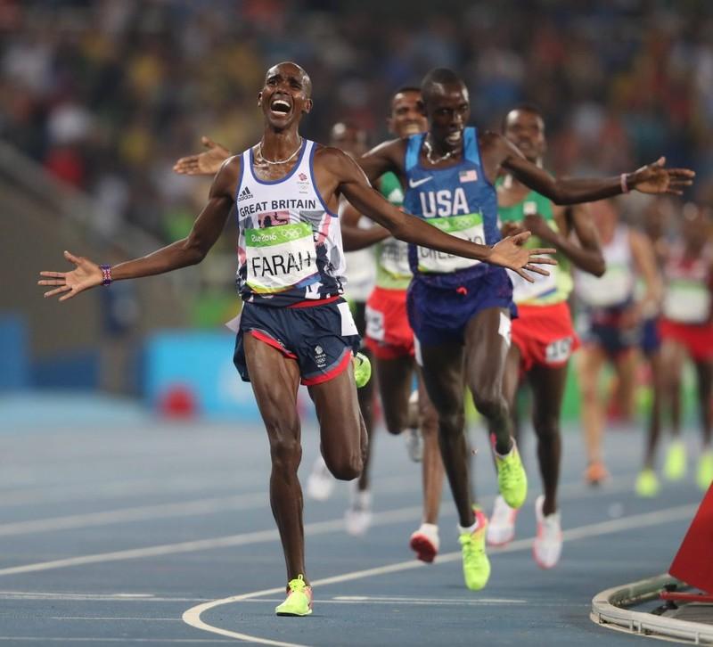 Mo Farah hoàn thành cú đúp HCV tại Olympic - ảnh 1