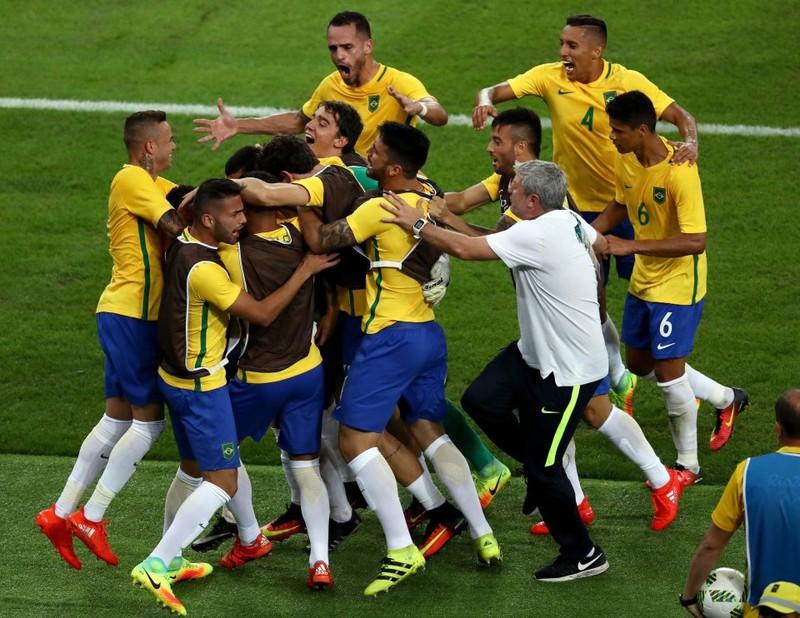 Neymar  giúp Brazil lần đầu giành HCV bóng đá Olympic - ảnh 2