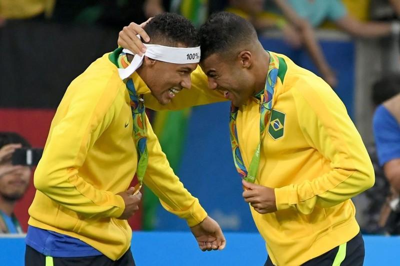Neymar  giúp Brazil lần đầu giành HCV bóng đá Olympic - ảnh 3