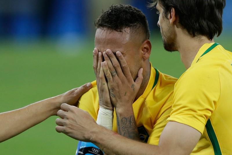 Neymar  giúp Brazil lần đầu giành HCV bóng đá Olympic - ảnh 1