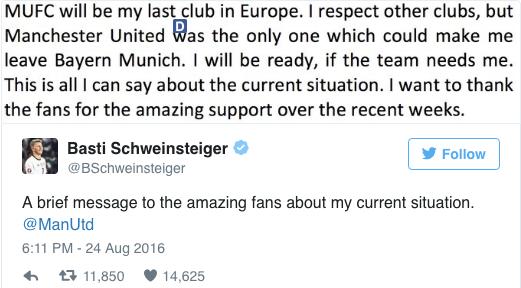 Bastian Schweinsteiger và câu chuyện nỗi lòng của kẻ bị ruồng bỏ - ảnh 3