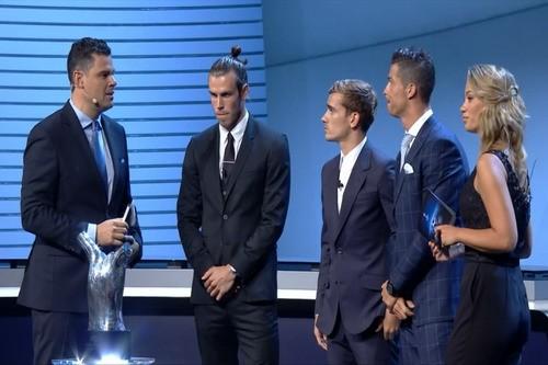 Ronaldo được vinh danh là 'Cầu thủ xuất sắc nhất châu Âu' - ảnh 1