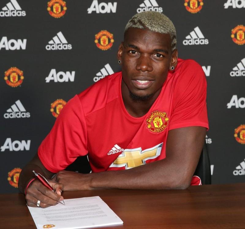 Việc Paul Pogba ký hợp đồng với M.U, có sự tác động không nhỏ từ nhà tài trợ Adidas