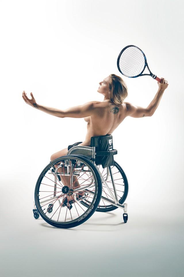 Những bức ảnh vượt lên số phận của VĐV khuyết tật dự Paralympic 2016 - ảnh 1