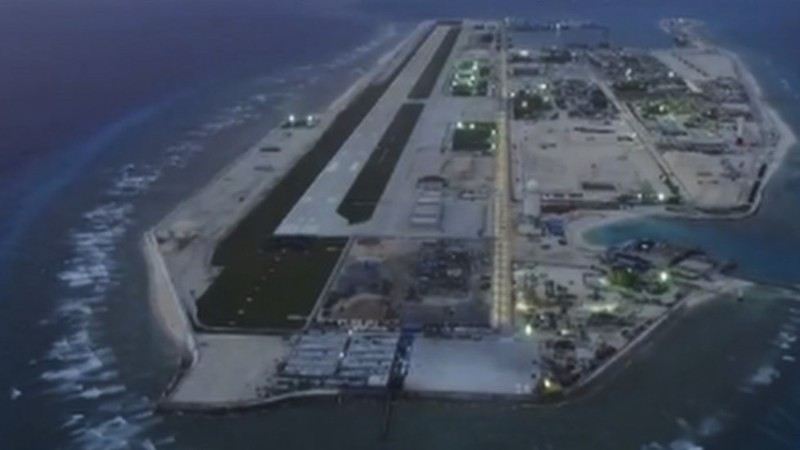 Philippines phản đối căn cứ không quân TQ ở biển Đông - ảnh 1