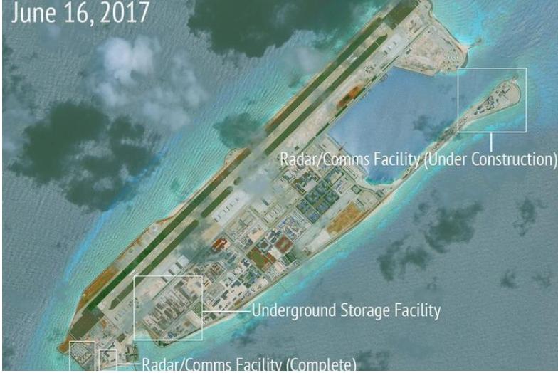 Philippines phản đối căn cứ không quân TQ ở biển Đông - ảnh 2
